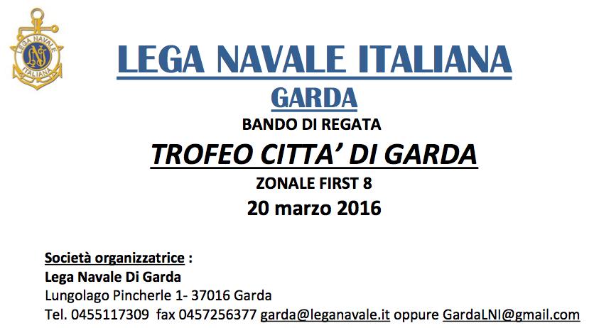 Trofeo Città di Garda 2016